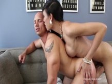 Venus Lux Fucks His Ass And Cums On His Face