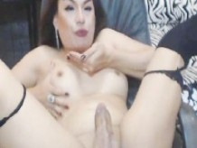Horny Tranny Play With Cock and Ass