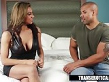 Trans Erotica - Jessy Dubia Takes the Black Dick